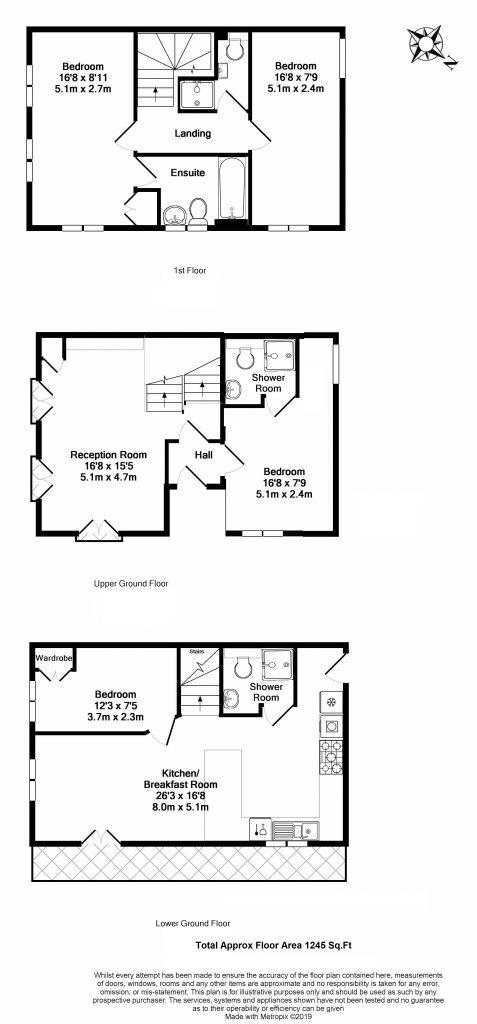 Floor Plan – 1 Lockington Road, London SW8
