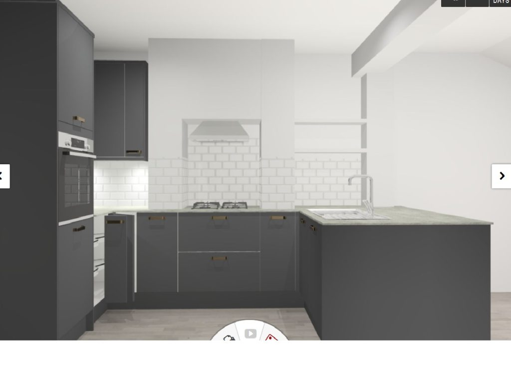 New Kitchen 144 Clapham Manor Street