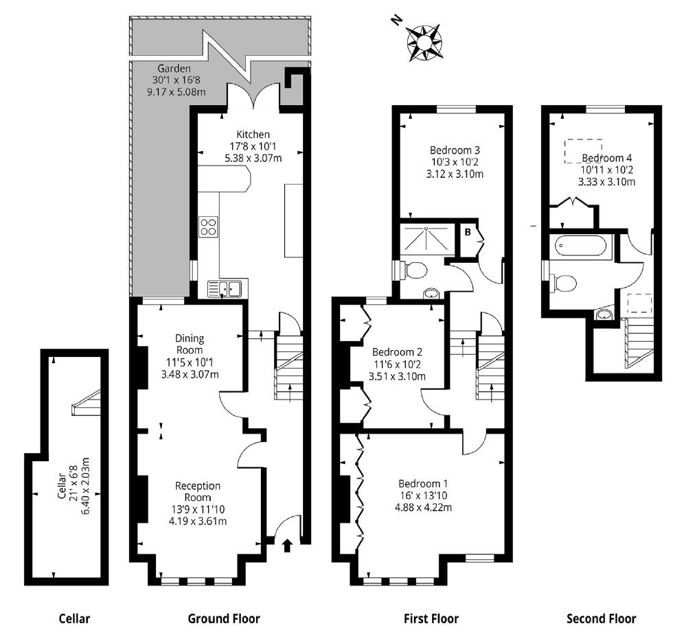 Floorplan 5 Cathles
